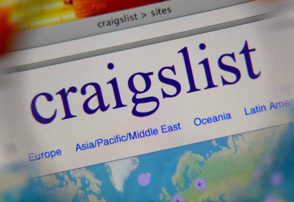 Sell Stuff on Craigslist