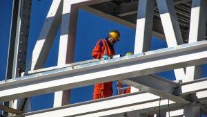 a construction man working